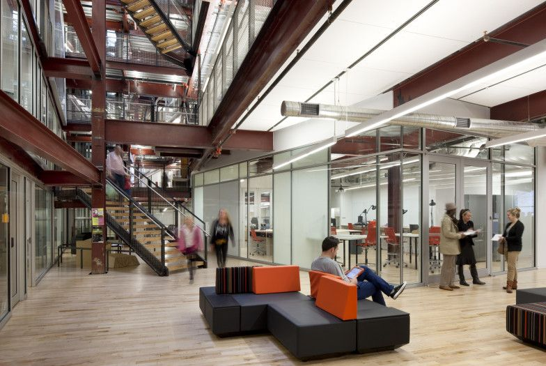 Amazing Drexel University URBN Center In Philadelphia PA / MSR. The Interior Street  Also Offers Spaces For Social Interaction And Collaboration And Connects ...