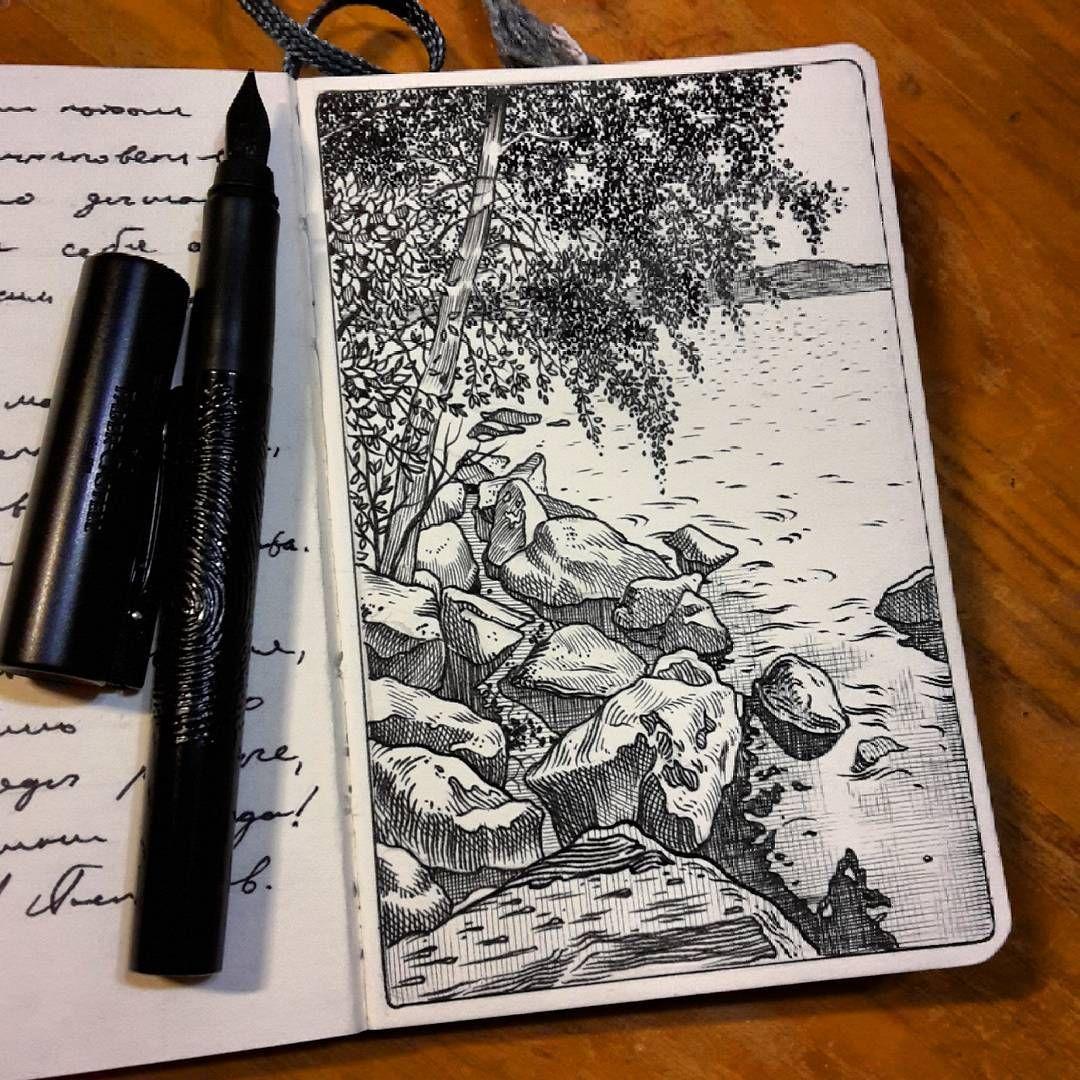 картинка черной ручкой последняя моя весна снимок
