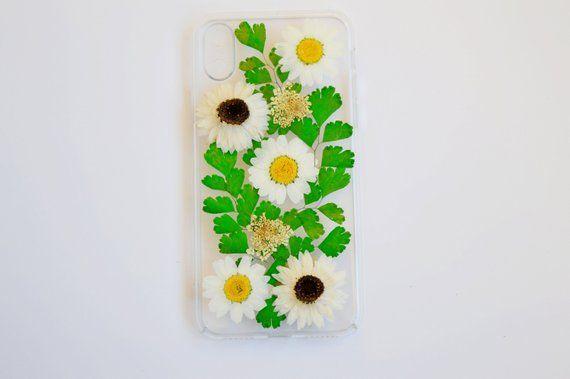 gepresster Blumentelefonkasten iphone XS Fall getrocknete Blume Iphone 6s Fall Blumenfall Samsung Galaxy S8 Fall Samsung Galaxy S5 Samsung S3 Fall S9