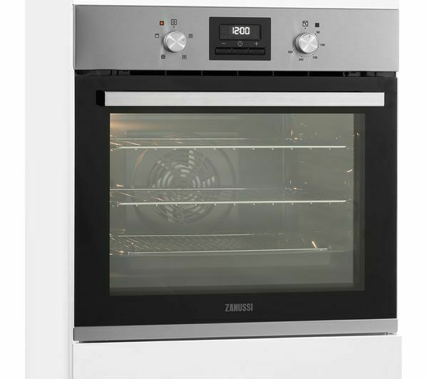 Zanussi Zob35471xk Electric Oven Stainless Steel Currys Ebay