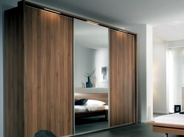 Pin by just a pretty style on porte garde robe sliding - Bedroom cabinets with sliding doors ...