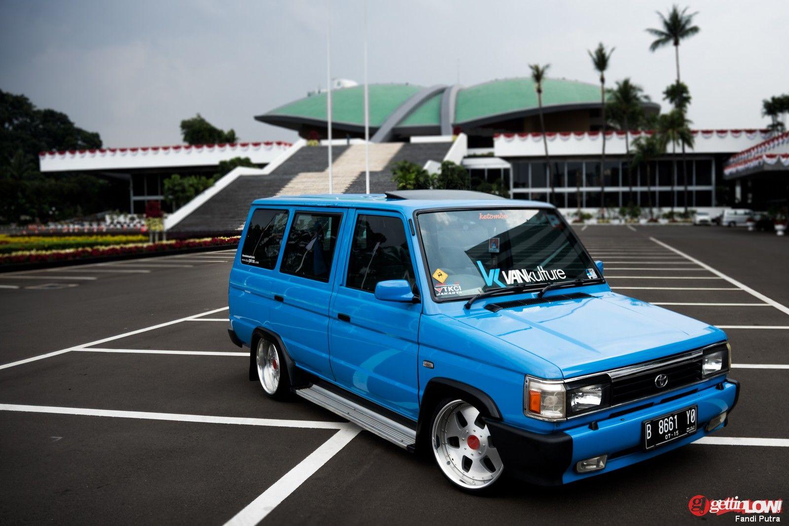 toyota kijang full modification | japanese retro car | pinterest