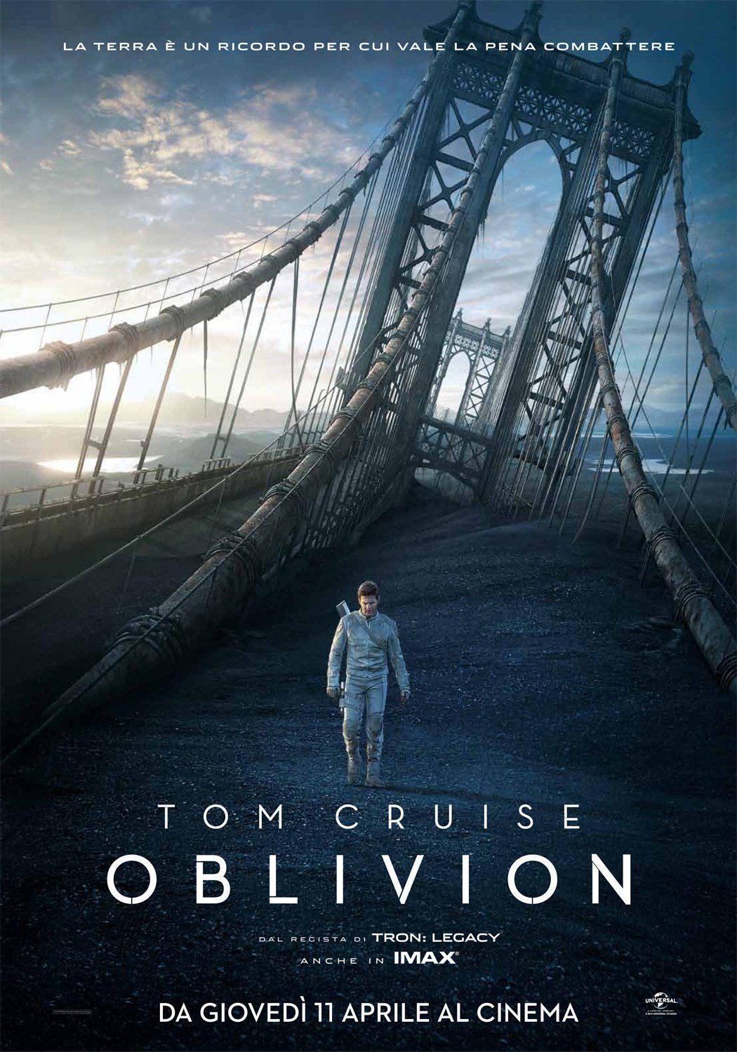 oblivion film completo del 2013 con tom cruise e morgan freeman in
