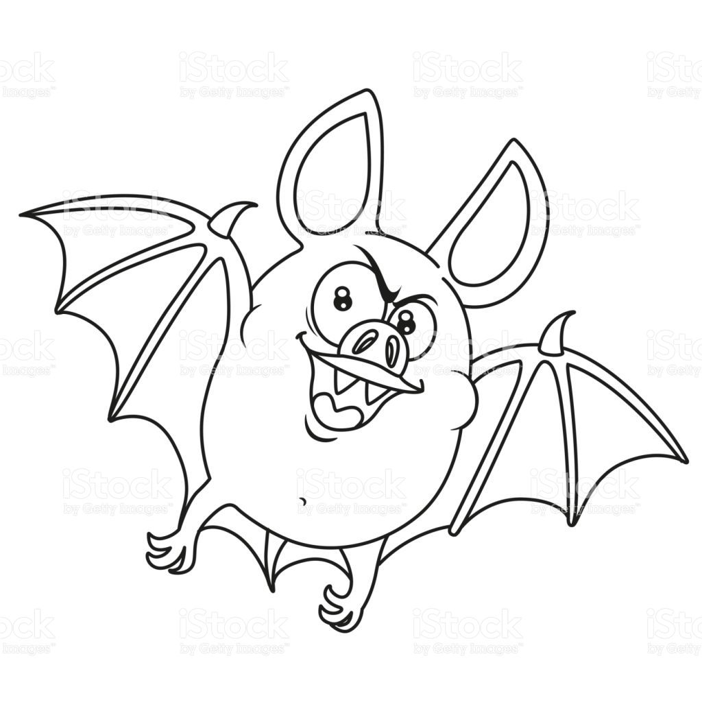 Susse Fette Halloween Fledermaus Fliegen Skizziert Fur Malvorlagen Lizenzfreies Susse Fette Halloween Fledermaus Fliegen Halloween Bats Bat Flying Coloring Pages