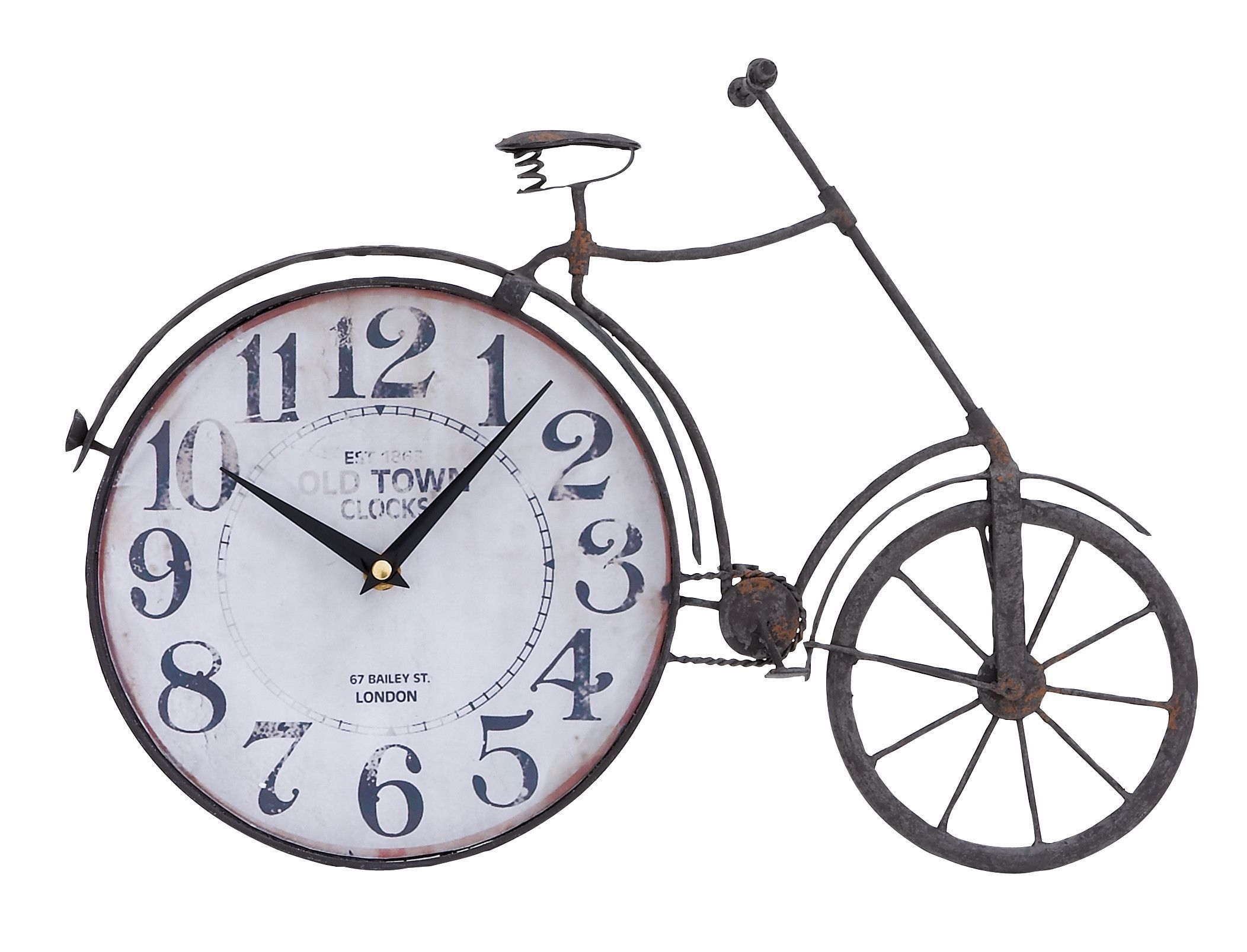the classic bicycle clock