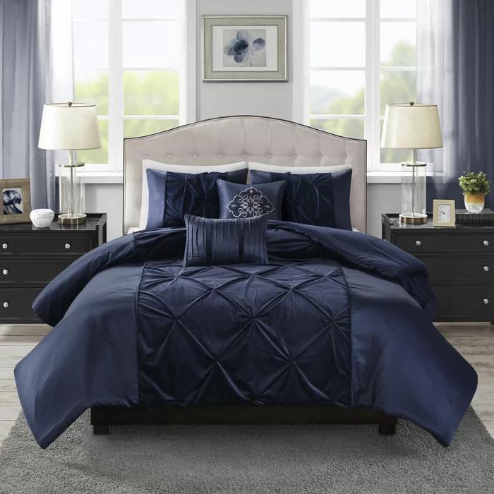 House of Hampton Corringham Velvet Comforter Set & Reviews