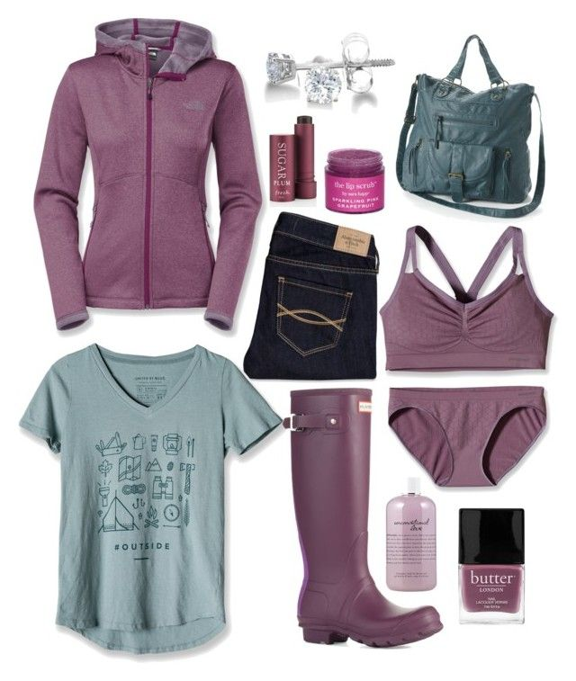 """I Want To Hide The Truth I Want to Shelter You"" by taylor-mortensen ❤ liked on Polyvore featuring moda, Patagonia, The North Face, Butter London, Abercrombie & Fitch, United by Blue, philosophy, Sara Happ, Hunter y Fresh"