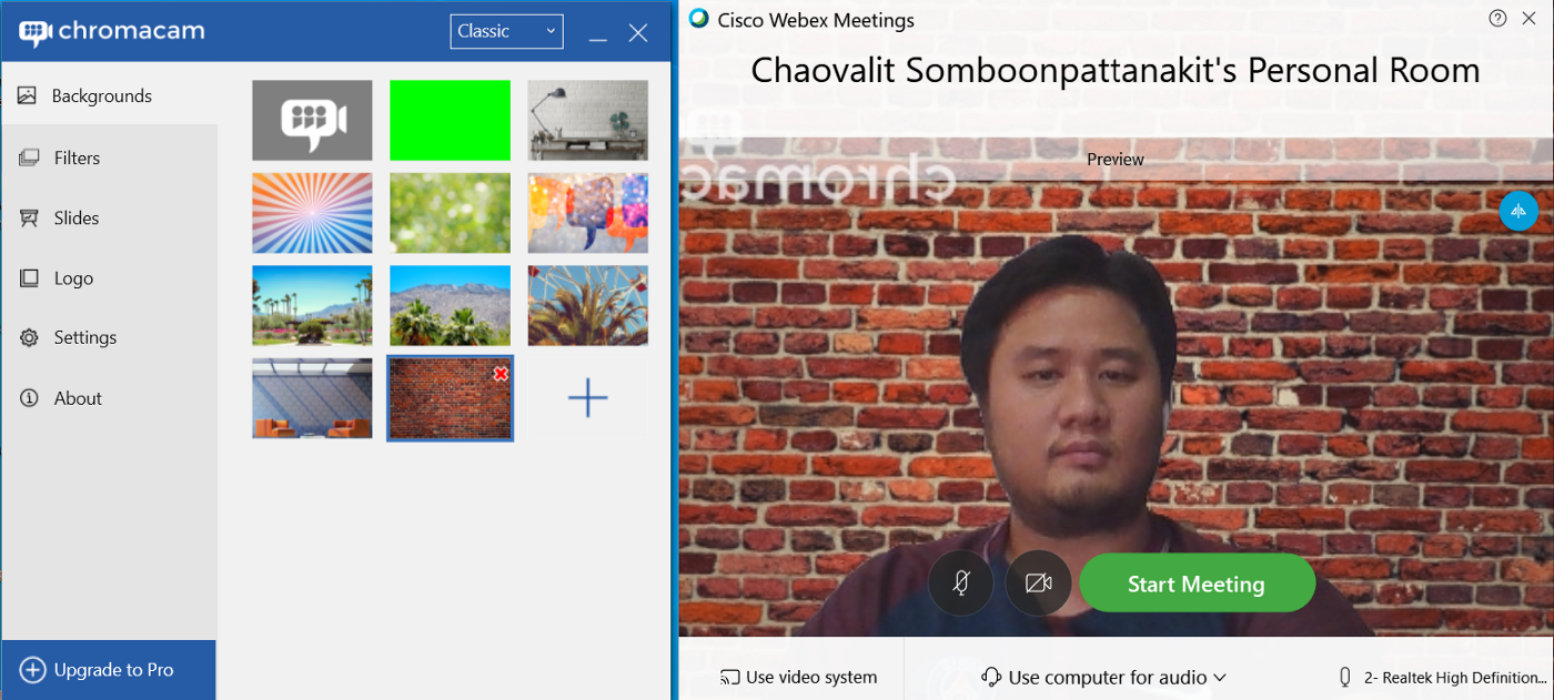 Easiest Way To Hide Or Blur Camera Background In The Google Meet And Cisco Webex Blur Camera Cisco Blur