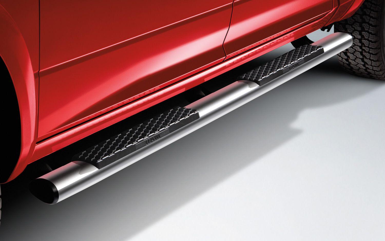 2013 Ram 1500 cab length chrome aluminum tubular side