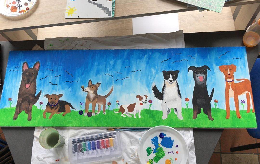 Tierheim Siegen Tierheimsiegen Hunde Dogs Drawing Home Decor Decor Frame