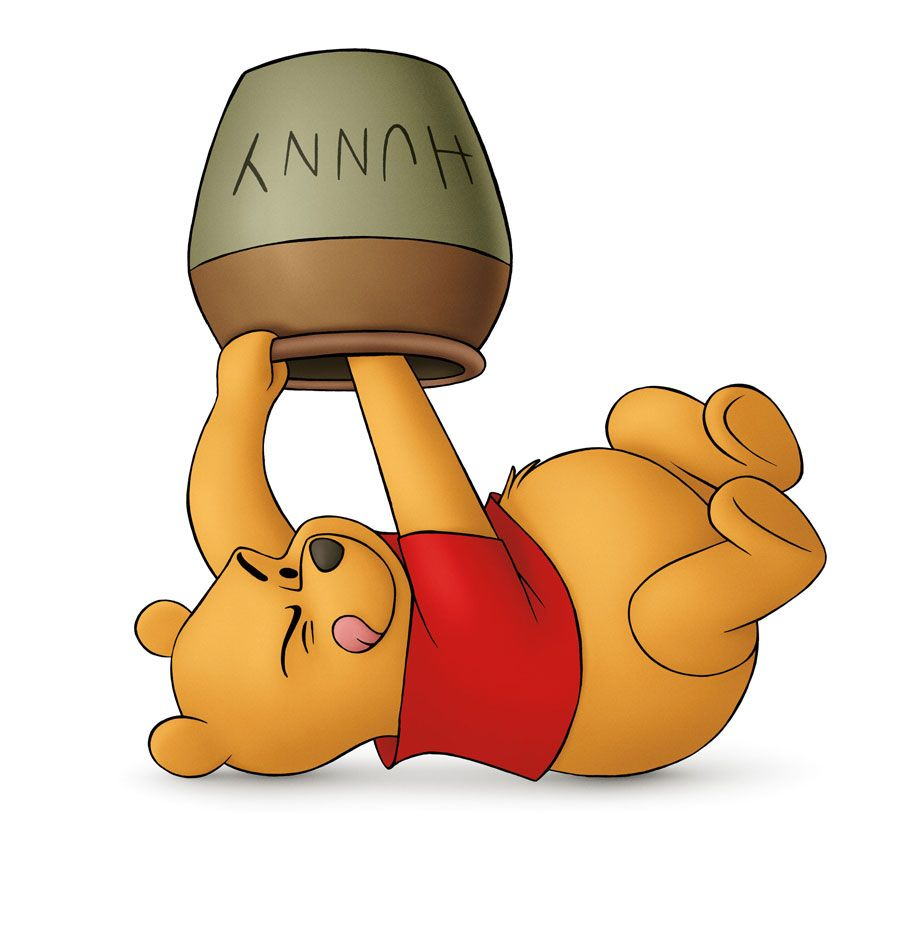pooh bear hunny jar - Google Search