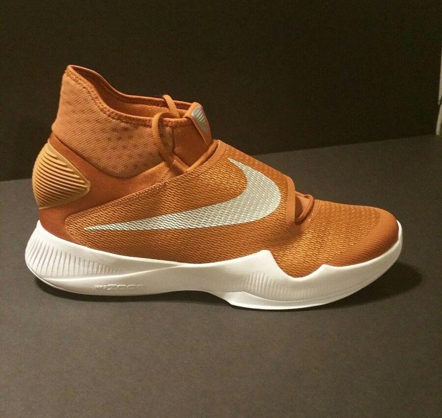 Men S Nike Zoom Hyperrev 2016 Tb Burnt Orange Texas Longhorns Basketball Size 15 Nike Basketballshoes Nike Men Nike Orange Basketball Shoes