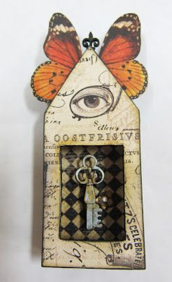 ⌼ Artistic Assemblages ⌼  Mixed Media & Collage Art - L. Mahaffey