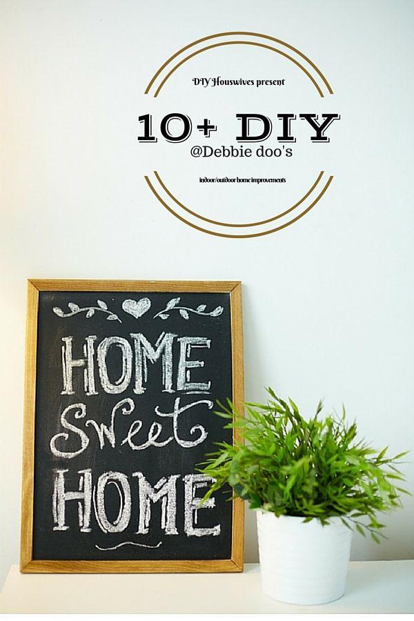 10+Diy indoor/outdoor home improvement ideas | Budgeting, Craft ...