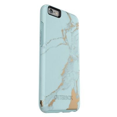 f1a98522ccafaf OtterBox Apple iPhone 6 Plus 6s Plus Case Symmetry - Teal (Blue) Marble