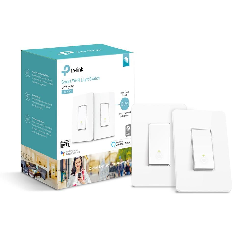 Tp Link Smart Wi Fi Light Switch With 3 Way Kit In 2020 Tp Link Smart Switches Light Switch