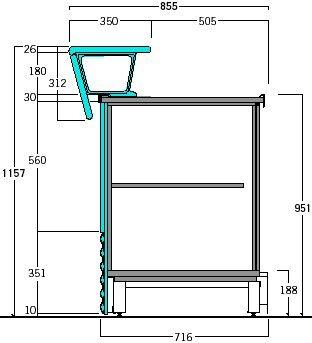 disegno bancone bar cerca con google bancone pinterest innenarchitektur. Black Bedroom Furniture Sets. Home Design Ideas