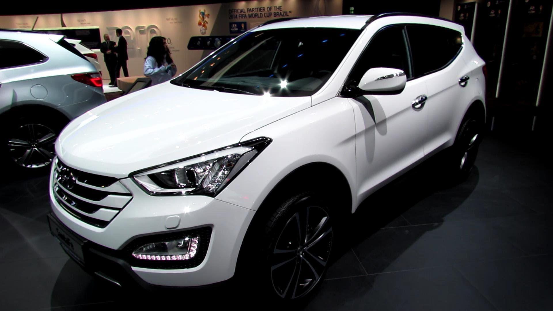 2016 Hyundai Santa Fe Suv High Resolution Wallpaper