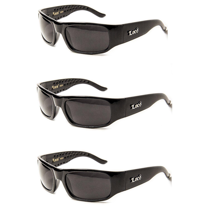 7e88289f4d2 Check out  3 Pack Locs 04 Hard Core Shades Classic Gangsta Sunglasses