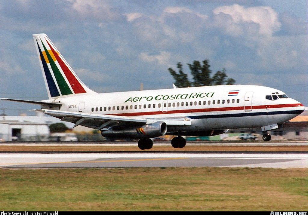 1997 Aero Costa Rica (With images) Boeing 737, Boeing