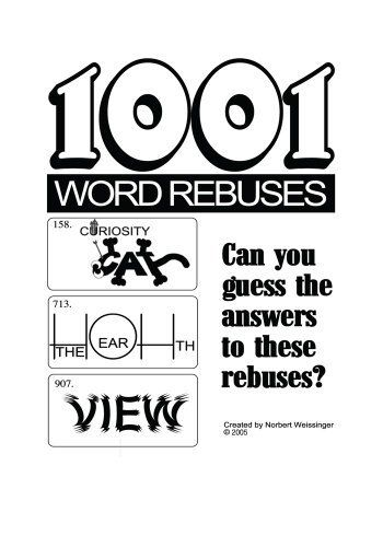 1001 Word Rebuses by Norbert Weissinger. $3.64. 120 pages
