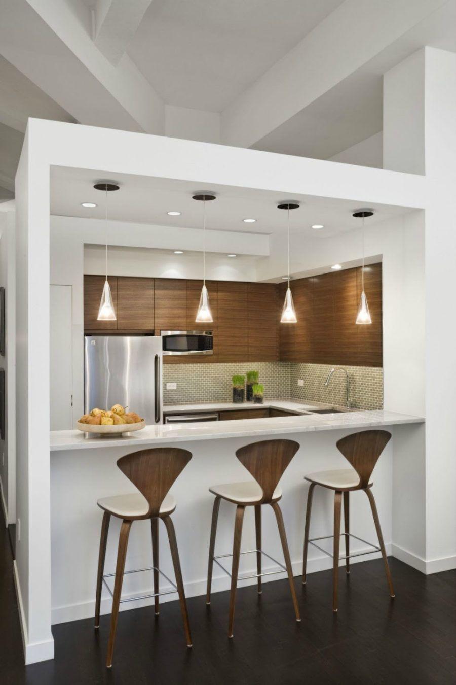 Loft-Apartment-Küche , Zeitgenössische Innenarchitektur Elemente ...