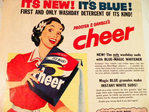 Retro Procter And Gamble Advertisement From Dottiedigsvintage On