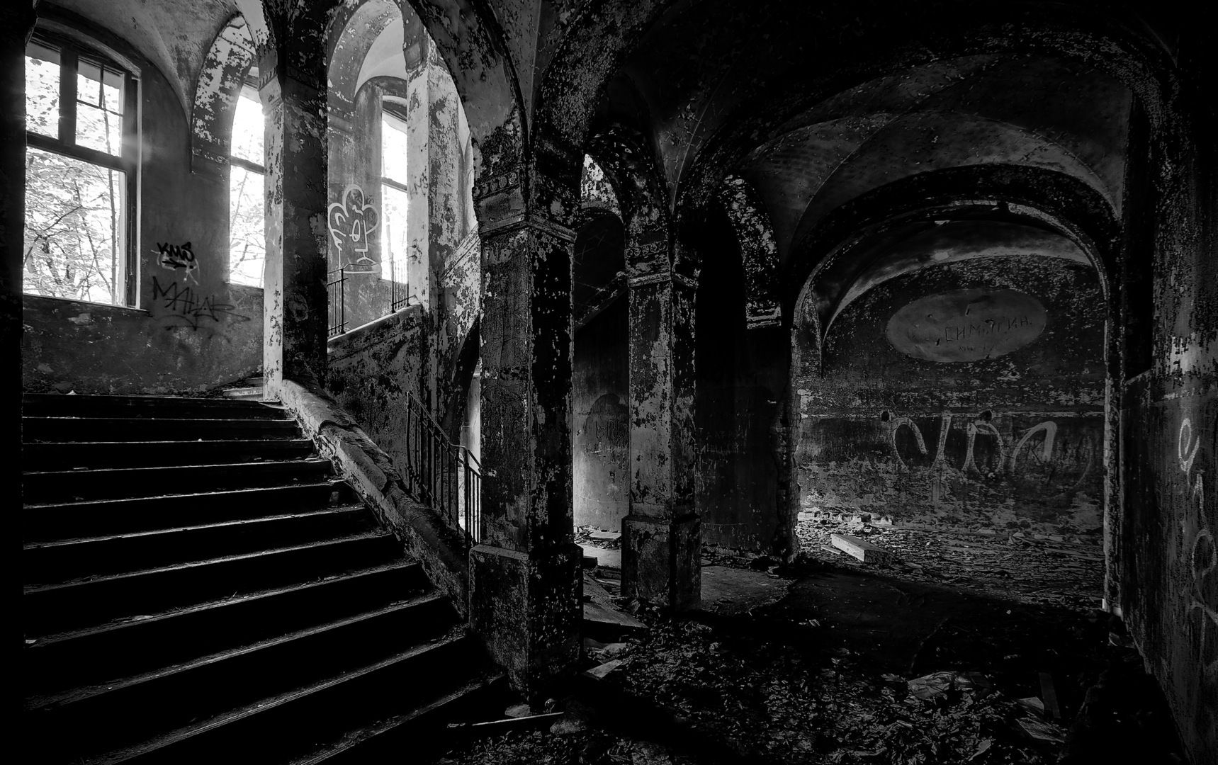 Abandoned places wallpaper