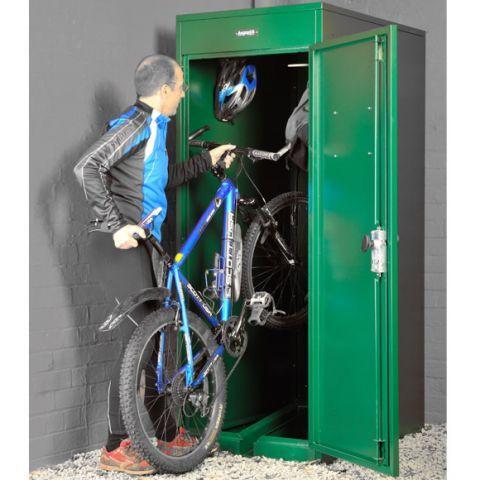 Asgard Vertical Bike Locker Sheds World 439 Bike Locker