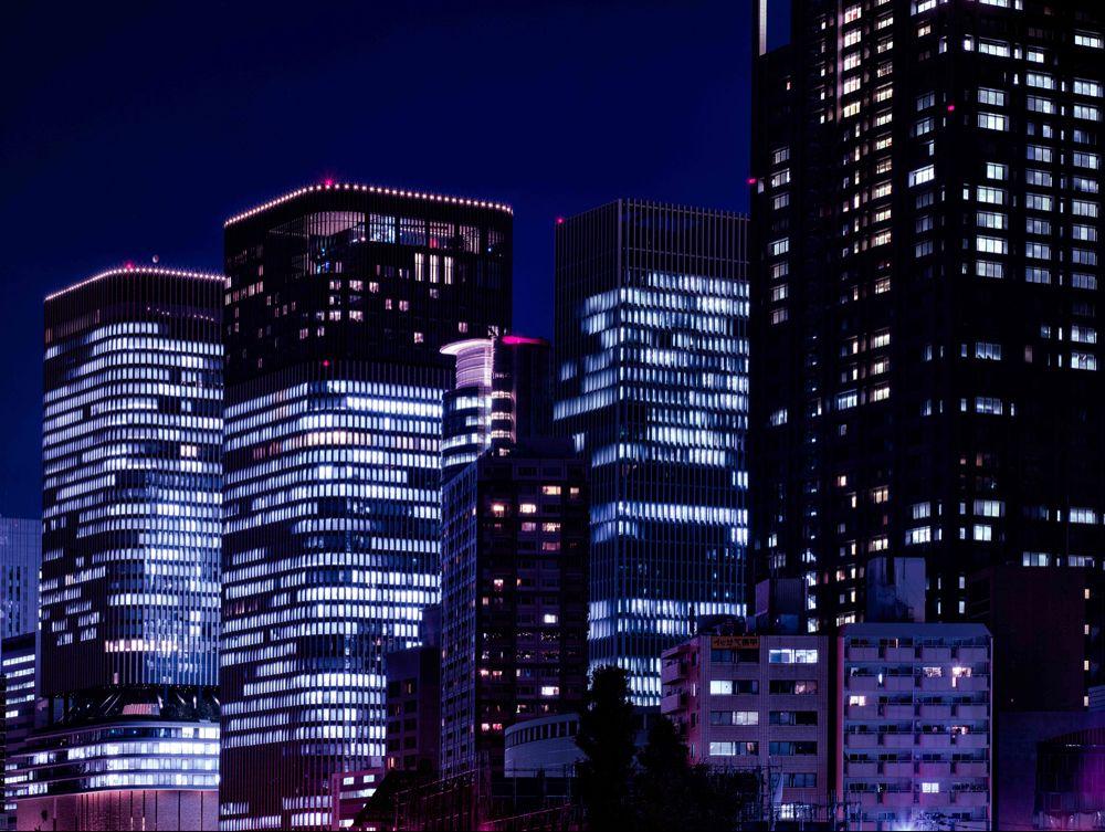 Neon Future On Behance Cyberpunk Tokyo Night Night City