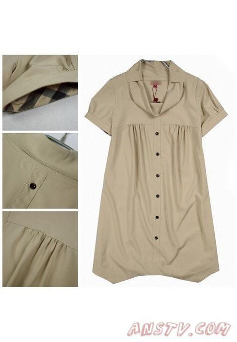 Femmes's Burberry Wheat Dresses 1004a