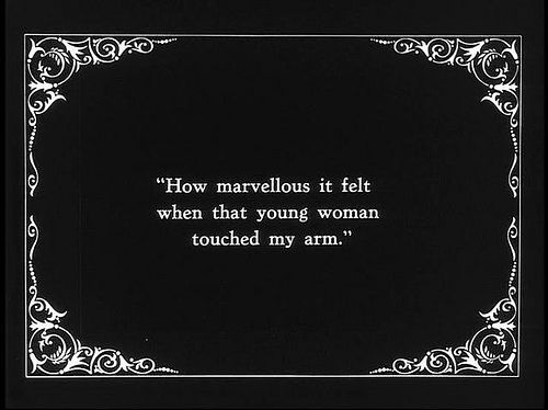 Still From Silent Black And White Silent Movie Film