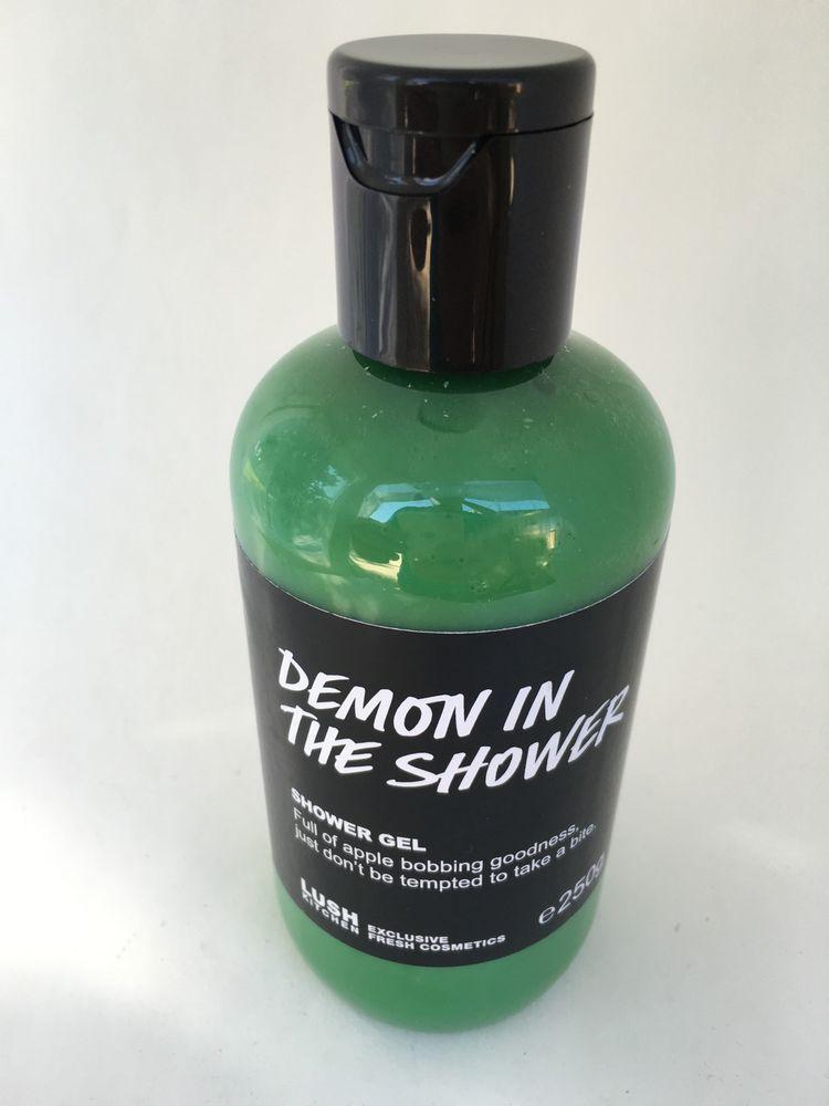 Lush UK Kitchen Demon in the Shower Gel Cosmetics 250g ...