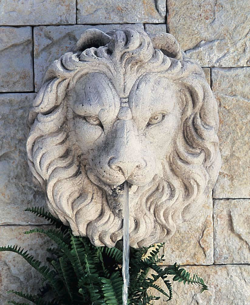 Regal Lion Head Water Fountain Pool Features In 2019