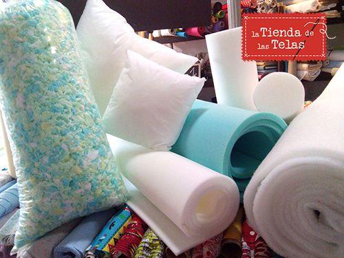 rellenos de gomaespuma para que puedas hacer tus propios cojines para cama