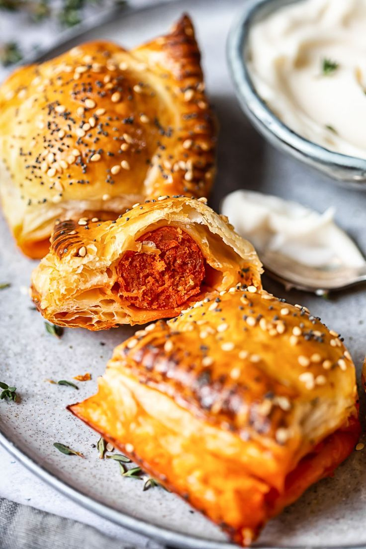 Change up your usual sausage roll recipe but using spicy and flavourful chorizo!...   - Vikalinka Recipes {Savoury} -