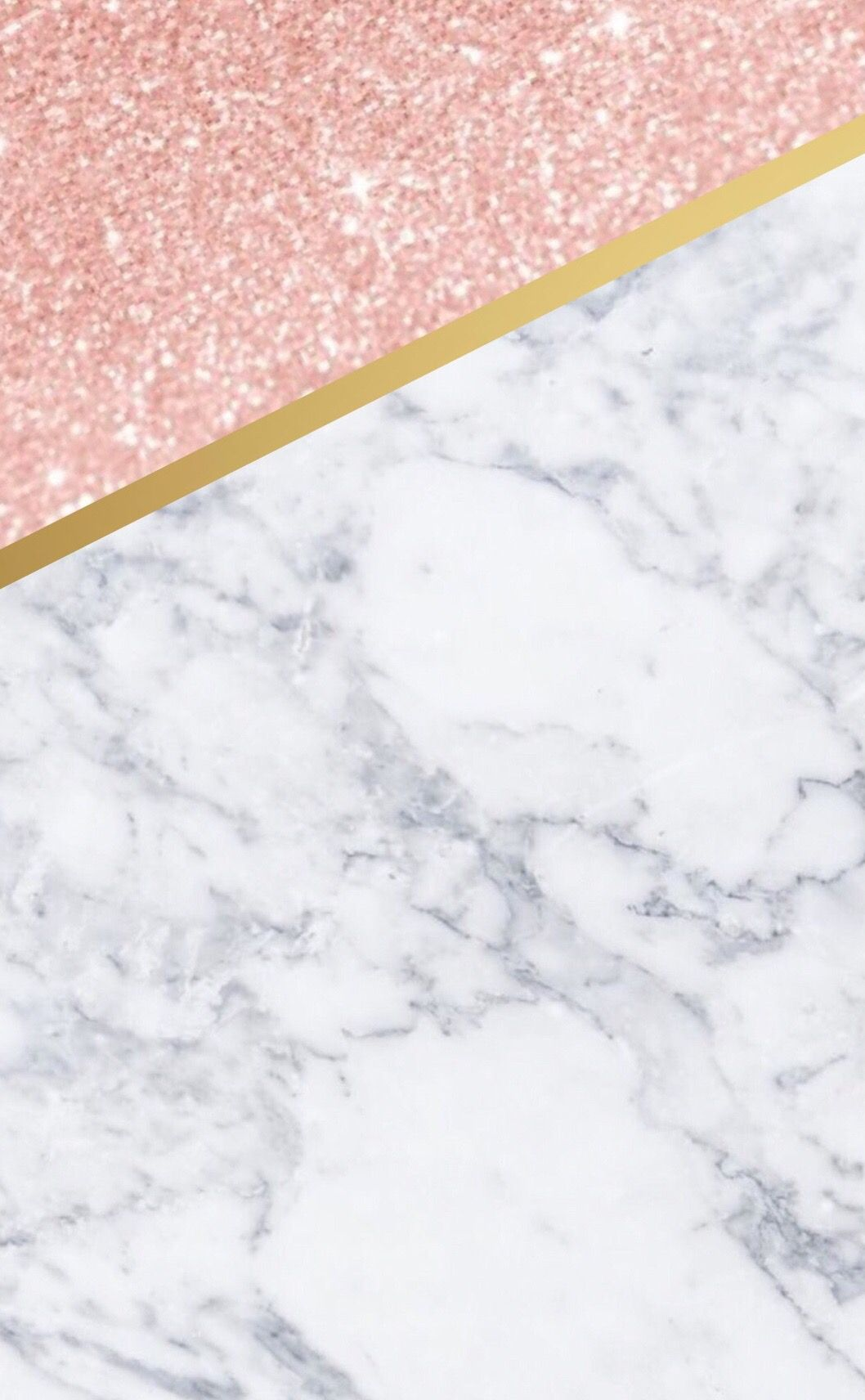 Cute Iphone Wallpaper Marble Rose Gold And Gold