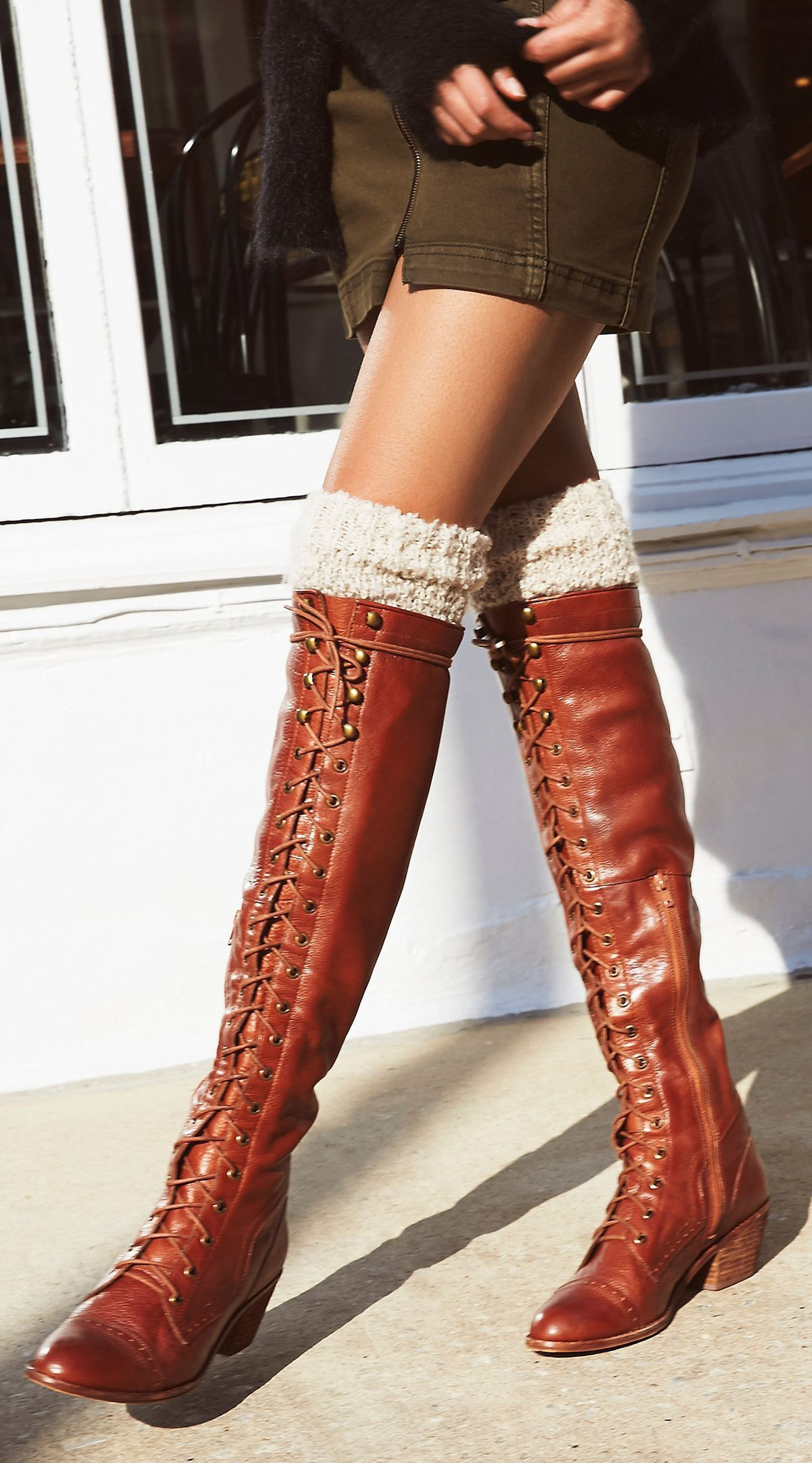 knee boots outfit