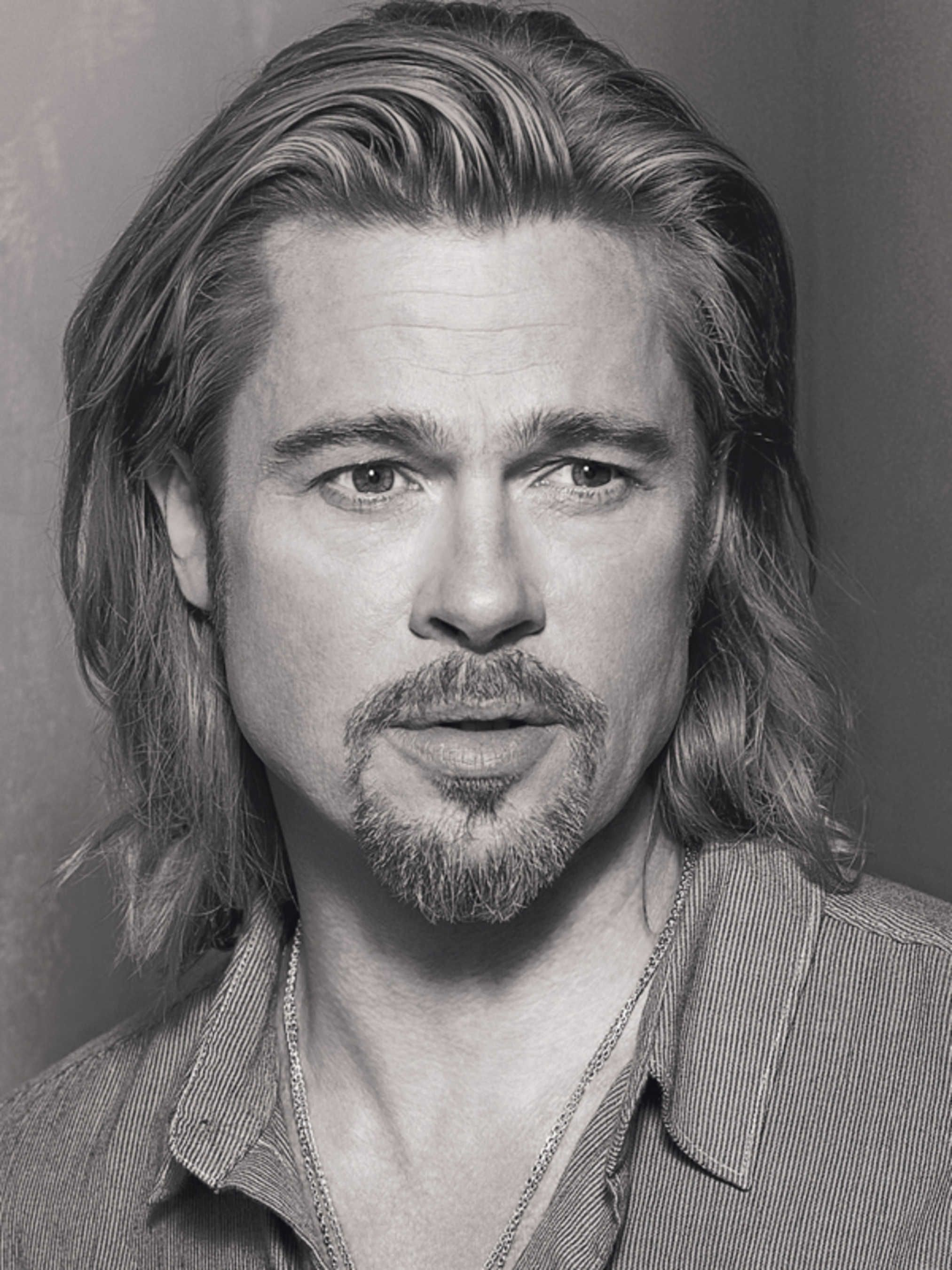 brad pitt's chanel no. 5 video is here! | celebrity | long
