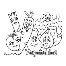 Spectacular Vegetable Coloring Pages 97 Top Free Printable Vegetables