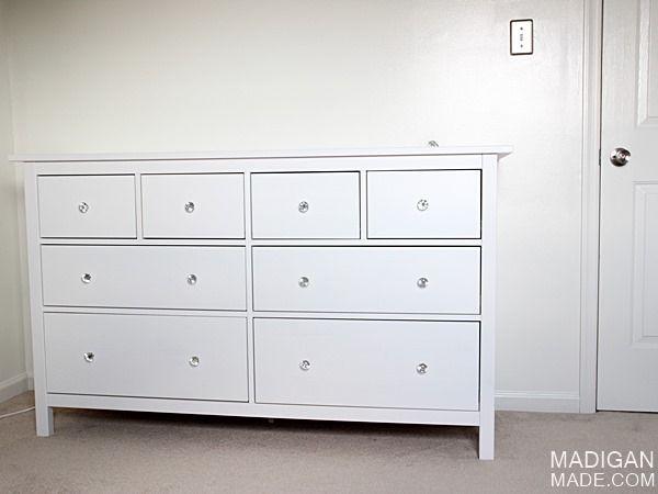 IKEA HEMNES dresser   a simple white baby dresser idea. IKEA HEMNES dresser   a simple white baby dresser idea   Beachy