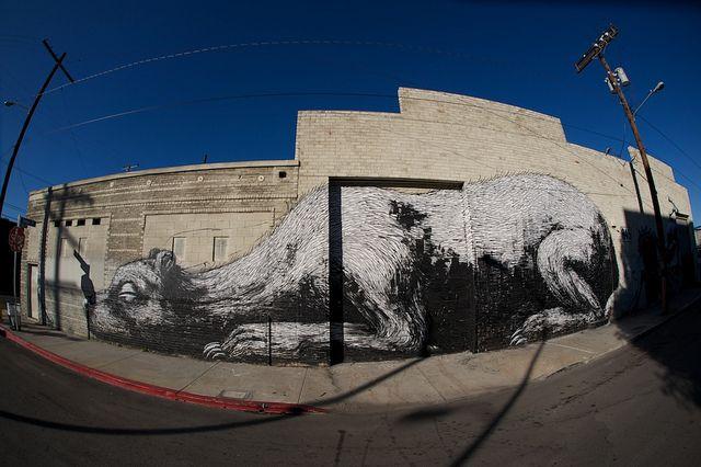 Roa - Downtown LA. by Romany WG