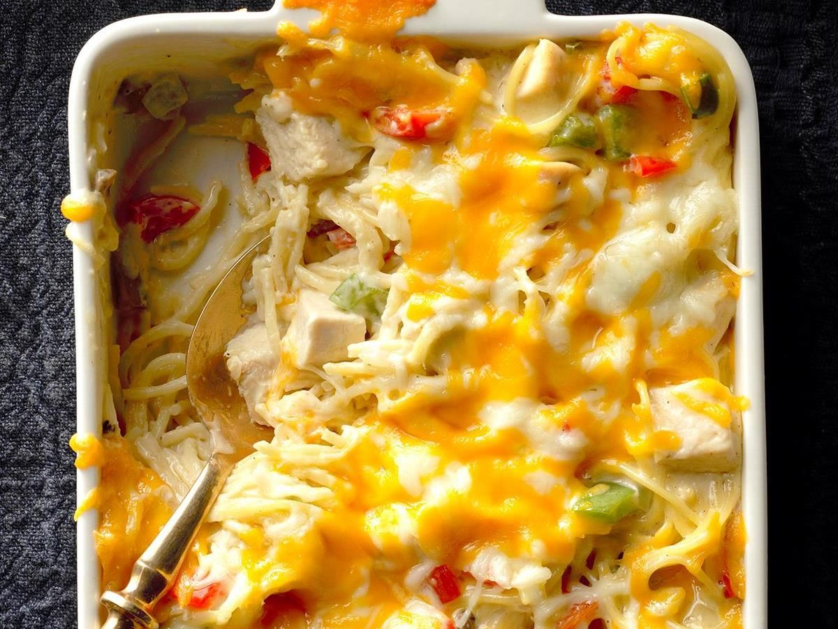 chicken and cheese casserole