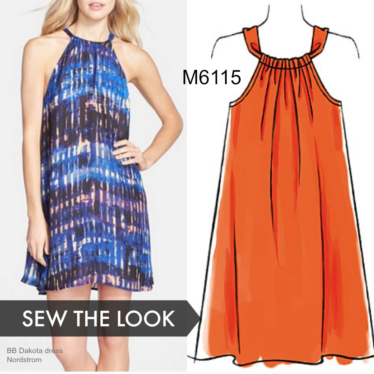 Sew the look: This McCall's dress pattern is easy enough for a