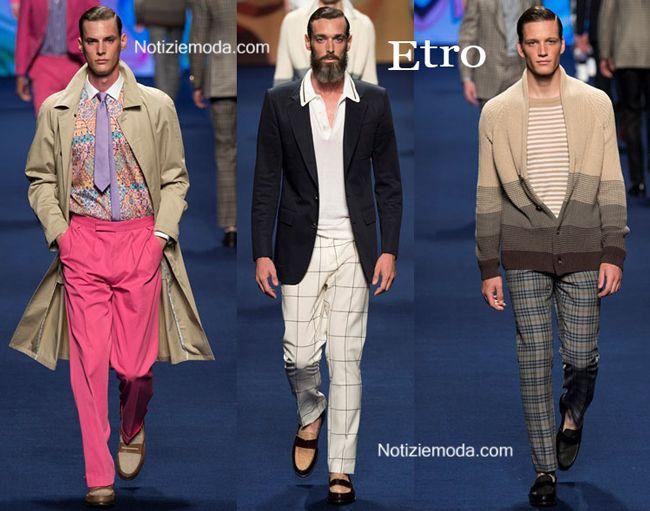 Collezione Etro primavera estate 2015 moda uomo