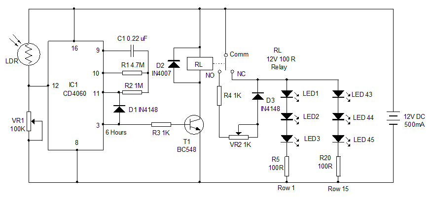 types of timer circuits with schematics and its working principletimer circuits used to provide time delays for triggering, types of timer circuits, ic 4060, fridge timer, industrial timers, long duration timer workings
