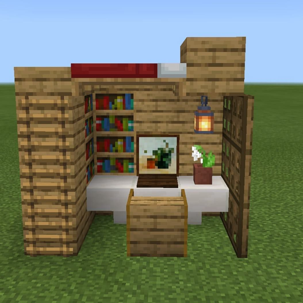 Camera Da Letto Minecraft dandelion_builds в instagram: «hello, this is a bedroom