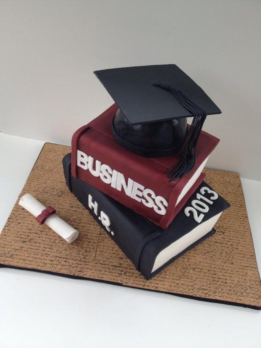 Cake Decorating Course Wolverhampton : Graduation Cake - by BAKED @ CakesDecor.com - cake ...