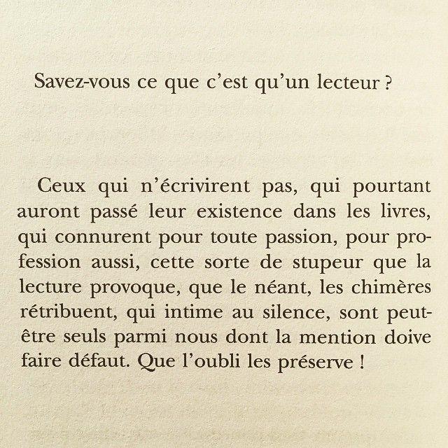 Pascal Quignard Le Lecteur Folio Des Lettres Et Des Mots