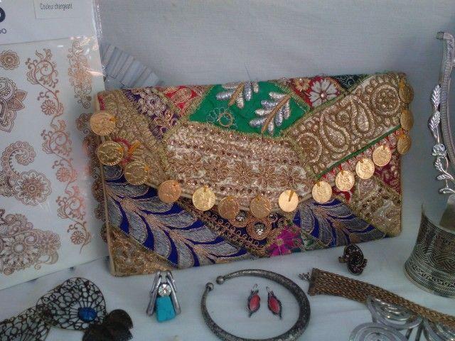 Bolsitos artesanales india